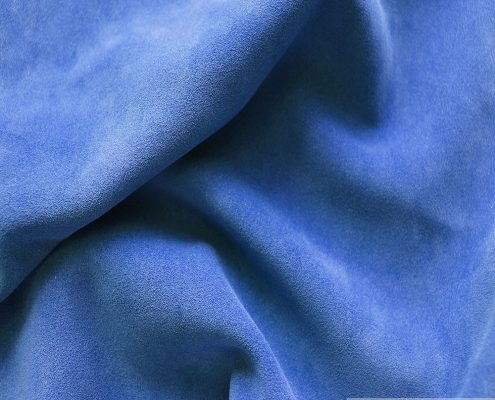 China Blue Suede