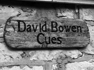 David Bowen Cues