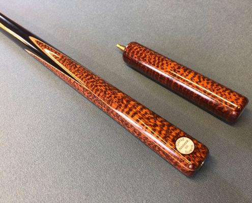 snakewood snooker cue